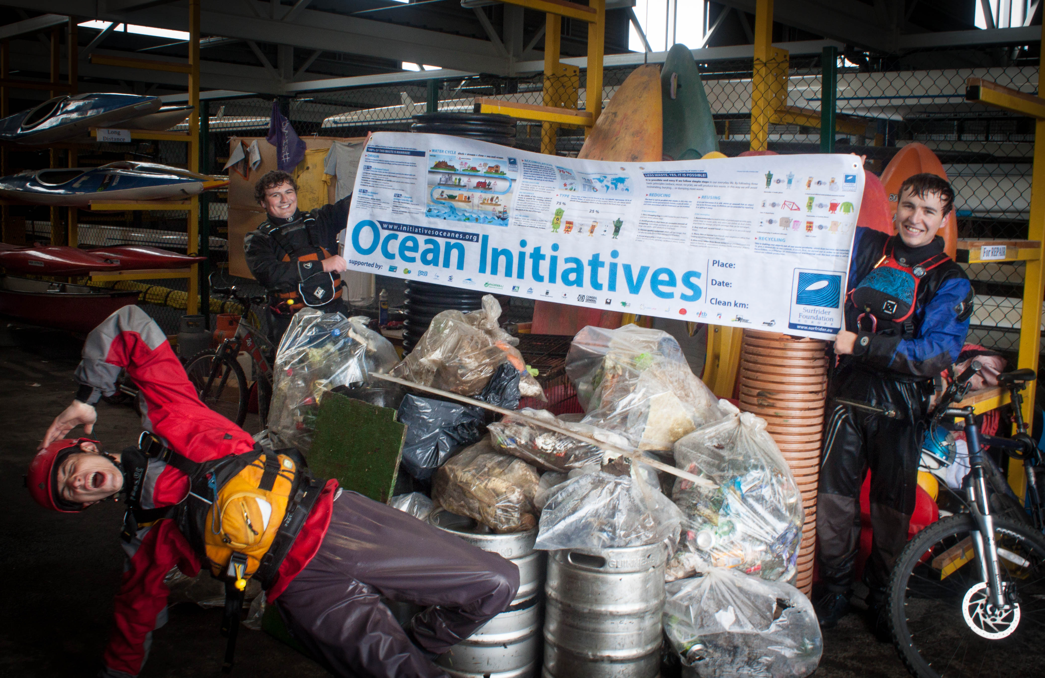 Results of the river cleanup 2014